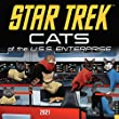 Star Trek Cats of the U.S.S. Enterprise 2021 Calen