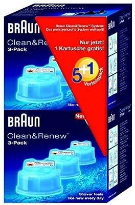 Braun Clean&Renew CCR5+1 Reinigungskartusche