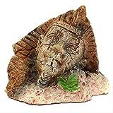 ZGPTX Estatuas Regalo Decoración del hogar Adornos Acuario Egipcio Retro Suministros de Resina Vintage para la decoración del Acuario pecera para Mascotas