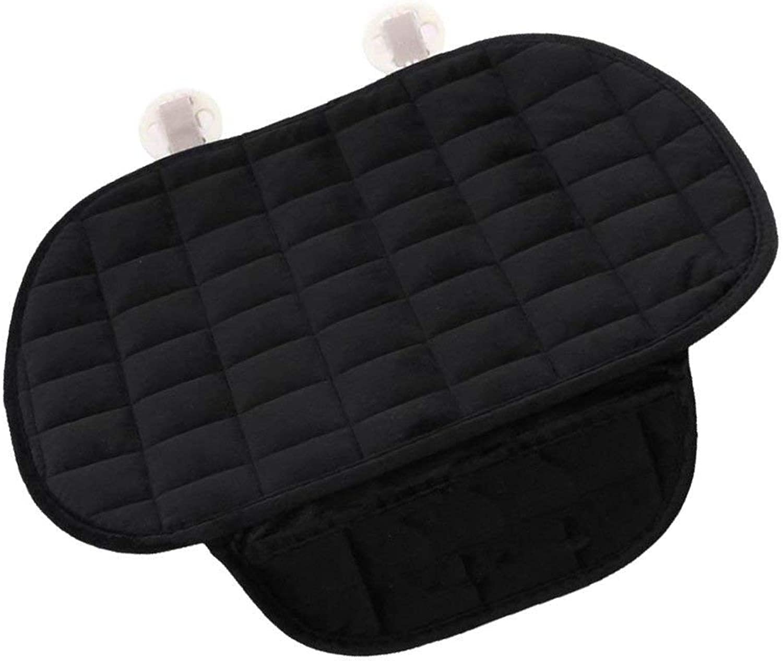 Thickening Car Anti-Slip Mat Cover Lattice Predector Cushion Black