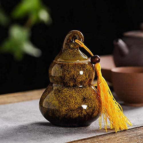 Pot à thé en céramique théière créative décoration de la maison décoration décoration de thé accessoires réservoir de stockage art portable boîte à thé salon décoration de bureau en céramique artisana