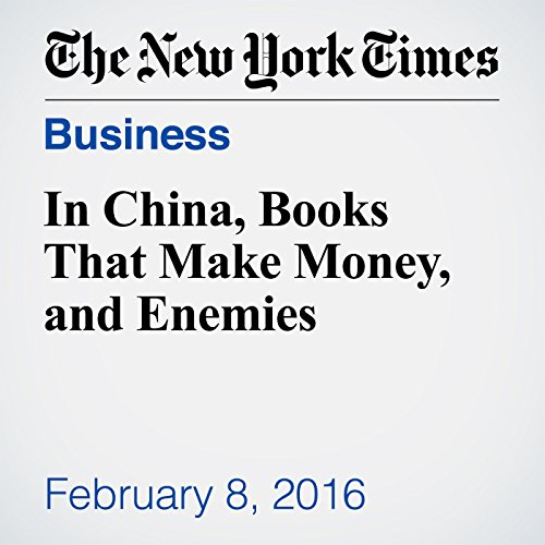 In China, Books That Make Money, and Enemies audiobook cover art