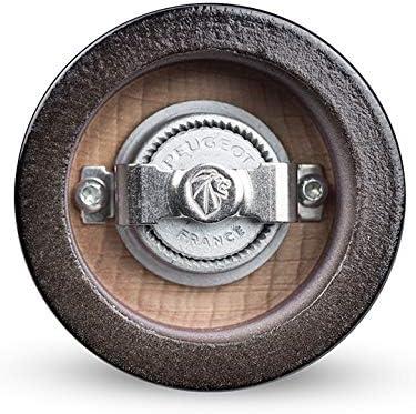 Black Peugeot Isen uSelect Pepper Mill 18cm-7in
