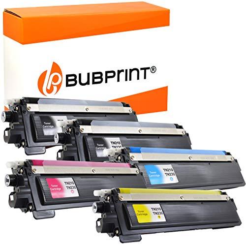 5 Bubprint Toner kompatibel für Brother TN-230 TN-230BK TN-230C TN-230M TN-230Y für DCP-9010CN HL-3040CN HL-3070CW MFC-9120CN MFC-9320CW Schwarz Cyan Magenta Gelb