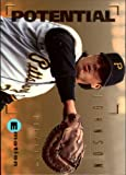 1995 Emotion Baseball Rookie Card #174 Mark Johnson. rookie card picture