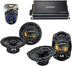 Compatible with Nissan Titan 2008-2012 OEM Speaker Upgrade Harmony R65 R69 & CXA300.4 Amp (Renewed)