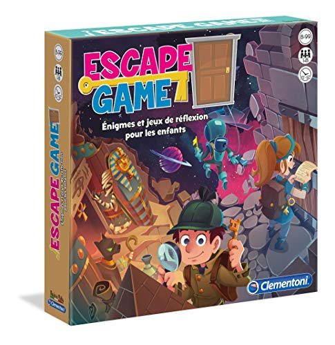 Clementoni- Escape Game, 52430, Multicolore