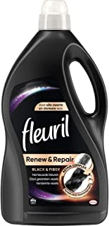 4x Fleuril Wasmiddel Black & Fiber 3,9 liter