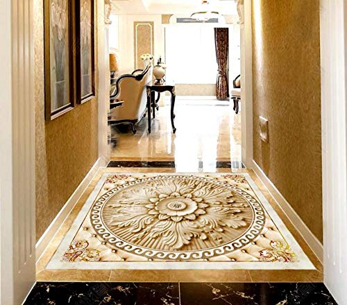 [Zelfklevend] vloerpatroon 3D-behang vloerbedekking muur patroon muursticker 350cm(L)x245cm(W)