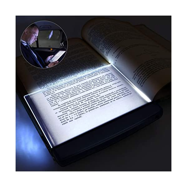 Modern LED Book Reading Light in Bed Car Bus Train or Plane