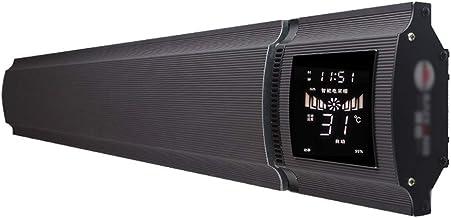 CPPI-1 CXLO Calefactores de en la Pared calefacción hogar Ahorrode energía suspensión,Convector con termostato Regulable,Pantalla Grande LCD,Instalación Simple ,Calentamiento silencioso