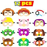 MALLMALL6 Toy 4th Masks Birthday Party Supplies Toys 4th Adventure Party Favors for Kids