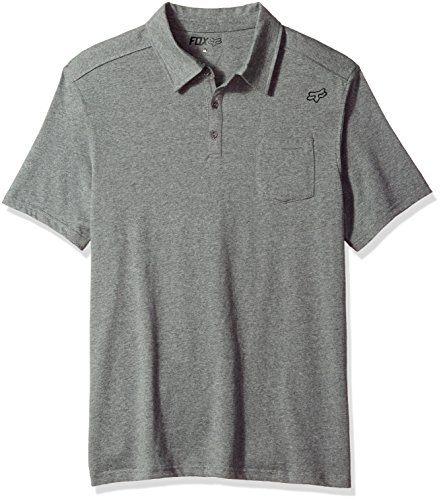 Fox Racing Legacy Polo Shirt X Large Heather Graphite