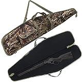 G GATRIAL Soft-Rifle-Case Shotgun Gun-Case Padded Rifle-Bag - 44/48/52 Inch Outdoors Range Hunting Shooting Firearm Transportation Carry Cases Camouflage 43'