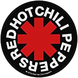 Red Hot Chili Peppers Asterisk Unisex Patch Mehrfarbig 100%