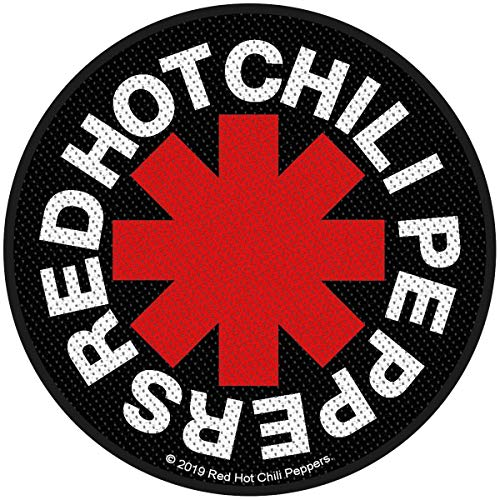 Red Hot Chili Peppers Asterisk Unisex Patch Mehrfarbig 100% Polyester Band-Merch, Bands