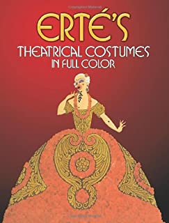 Theatrical Costumes in Full Colour (Dover Fine Art, History of Art) by Erte (24-Mar-1980) Paperback
