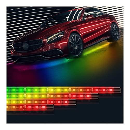 Control Remoto RGB LED Strip bajo Tubo de Coche Durno bajo Cuerpo Sistema de neón DC12V IP65 5050 SMD (Emitting Color : 90x2-150x2)
