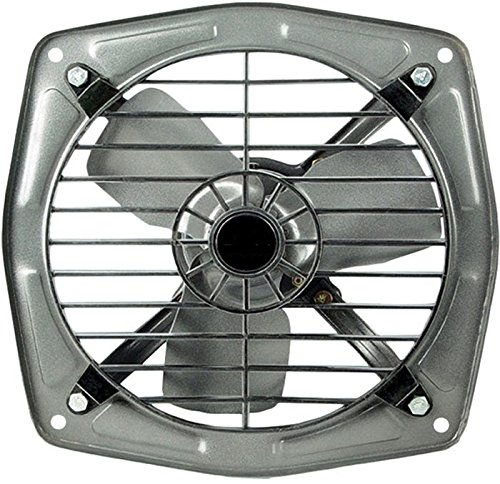 STARVIN || Fresh Air EXHAUST FAN || 300 mm (12 inch) || with 1 Season Warranty || Safety Grid || High Speed || Copper Winding || For Kitchen || For Bathroom || For Store || For Office || Black || High Speed Copper Motor || W-02