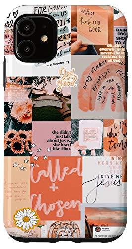 iPhone 11 Christian Positivity Motivational Aesthetic Collage Fashion Case