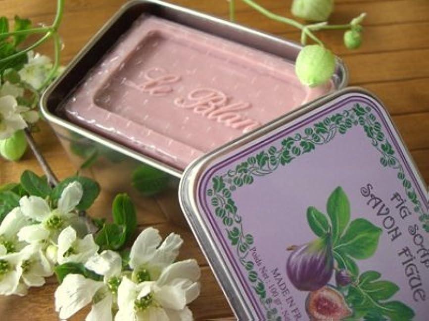 回る話遷移LE BLANC SOAP(ルブランソープ) イチジクの香り LB007ルブランソープ メタルボックス(leblanclb007)