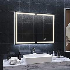 DICTAC spiegelschrank Bad LED und