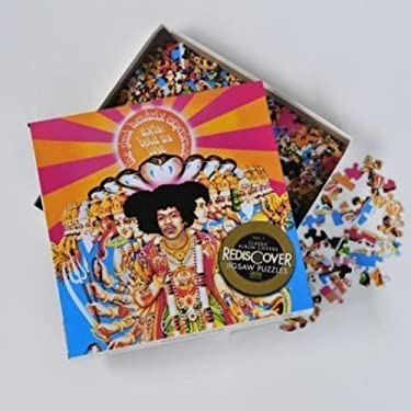 Imagination Games Rediscover Jigsaw Puzzles - Jimi Hendrix - are You Experienced