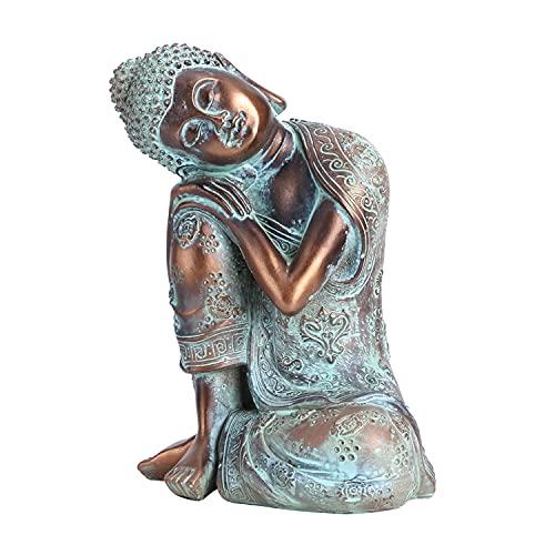 Estatua de Buda Decoración de Estilo del Sudeste Asiático Estatuas de Buda Escultura...