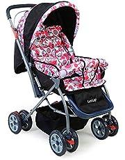 LuvLap Baby Stroller Starshine (Light Red)