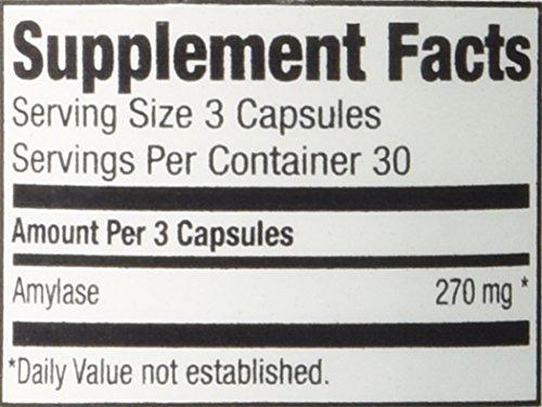 Ness Enzymes- Amylase #3 90 vegcaps