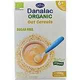 DANALAC Organic Crema di Cereali Avena 200 Grammi   Pappa Senza Zucchero 6+ Mesi (Confezione da 1)