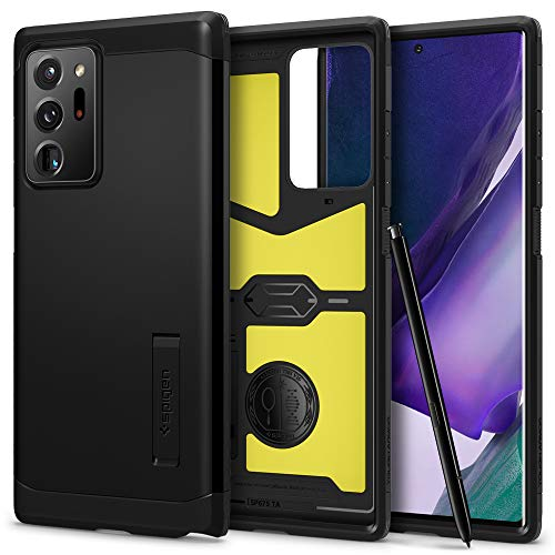 Spigen Tough Armor Designed for Samsung Galaxy Note 20 Ultra 5G Case (2020) - Black