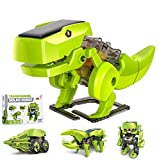 OFUN Dinosaurios Juguete Robot Stem para niños, 4 en 1 Robots Kit de Ciencia Divertido Juego Creativo y DIY Juguetes, Manualidades Regalos para niños de 8 a 12 años