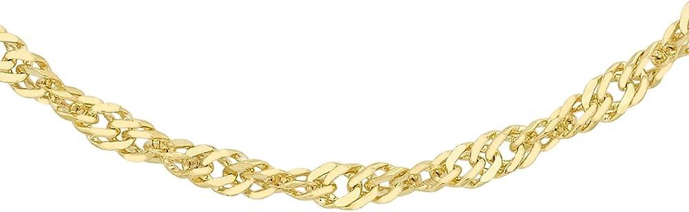 Carissima gold collana da donna, in oro giallo 9k (375)(2,9 gr) 1.13.0483