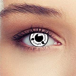 Soft Color Contact Lenses Cosmetic Eye Makeup Lens Demo Series Cosplay 1 Year with Case