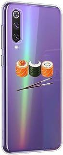 Oihxse Beschermhoesje voor Huawei P40, ultradun, transparant, zacht, TPU-gel, siliconen, beschermhoes, schattig motief, sc...