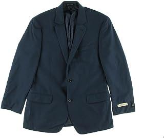 Michael Kors Blazer Navy Solid Two Button New Men's Sport Coat