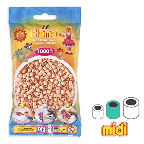 Hama Cuentas Beads Midi 5 mm Color Carne (n°26) x1000