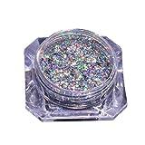BBsmile Neon Symphony Decoloration Powder Nail Art Sirena pigmento polvo DIY decoración de uñas