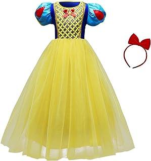 bdf30d9636dc0c Amazon.fr : costume blanche neige - Robes / Fille : Vêtements