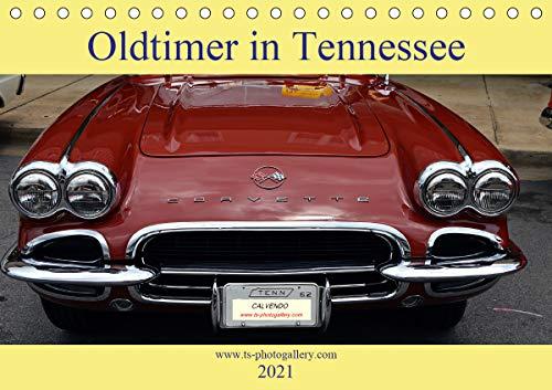 Oldtimer in Tennessee (Tischkalender 2021 DIN A5 quer)