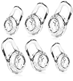 6 Clear Small Medium Large Eargels for PLANTRONICS Discovery 925 975 Wireless Bluetooth Headset Ear Gel Bud Tip Gels Buds Tips Eargel Earbud Eartip Earbuds Silicon Replacement Part Parts