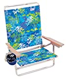 Rio Beach Classic 5 Position Lay Flat Folding Beach Chair - Baja Boho Palms
