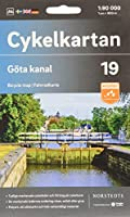 Goeta kanal 1:90 000: Cykelkartan