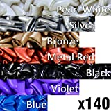 140 pcs Soft Cat Claw Caps for Cats Nail Claws 7X Colors +