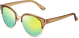 Vintage Womens Sunglasses Colorful Polarized PARZIN Eyewear for Driving Beach Sunglasses 100% UV Protection