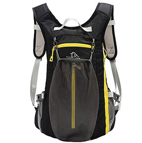 sac à dos d'escalade de plein air sac à dos de voyage ultrallight Noir