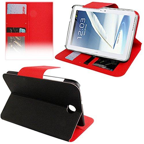 Digital Bay Srl Rocina Borsa Case Struttura Nero Clip Rosa per Samsung Galaxy Note 8.0 con Funzione di Posizionamento