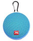 JVC Portable Wireless Speaker with Surround Sound, Bluetooth 5.0, Waterproof IPX4, 7-Hour Battery Life - SPSA2BTA (Blue)