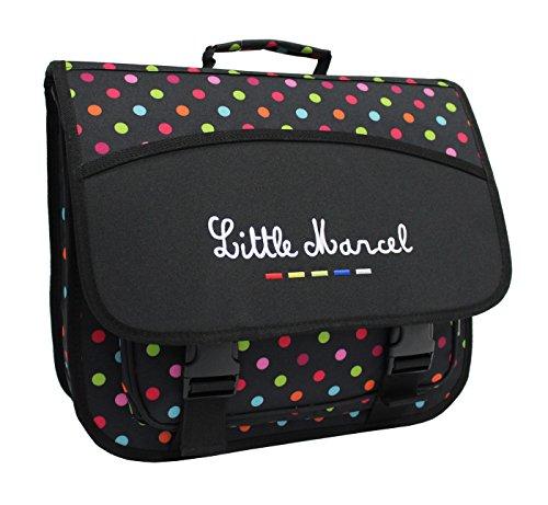 Cartable Scolaire Little Marcel - 40cm - Petits Pois -...
